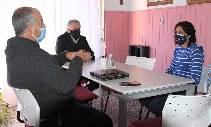 Planificando mantenimiento de la red terciaria junto al Municipio de General Pico