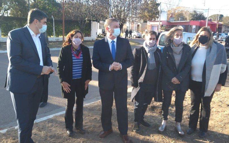 Visita del Gobernador e importante licitación en Dorila